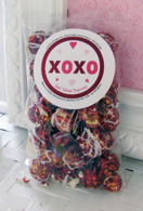 Red Velvet Valentines Popcorn Snack Bag