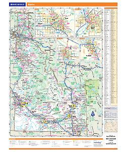 Rand McNally Idaho State Wall Map on st. louis kentucky map, sharp kentucky map, ky hwy map, rand mcnally home, lexington kentucky map, mapquest kentucky map,