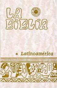 BIBLIA LATINOAMERICANA PASTA NACAR (BOLSILLO)