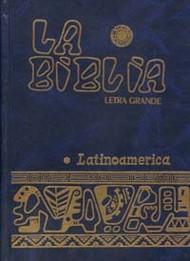 BIBLIA LATINOAMERICANA DE LETRA GRANDE CON INDICES