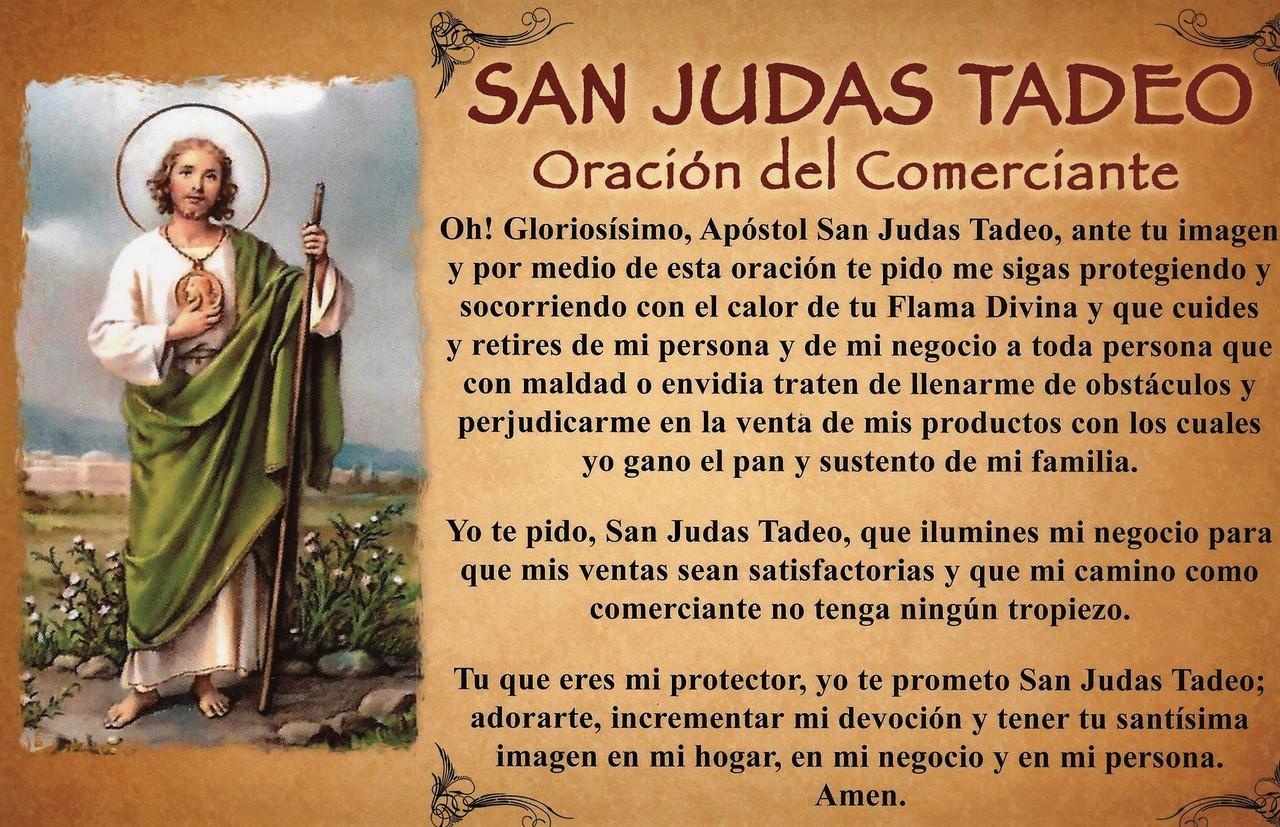 Resultado de imagen para oracion a san judas tadeo