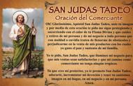 CEDULA DE SAN JUDAS CON ORACION DEL COMERCIANTE