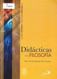 DIDACTICAS DE LA FILOSIFIA