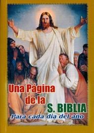 UNA PAGINA DE LA SANTA BIBLIA PARA CADA DIA DEL AÑO