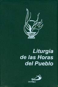 LITURGIA DE LAS HORAS DEL PUEBLO - LETRA GRANDE PLASTICO