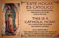 340.0030 CEDULA DE ESTE HOGAR ES CATOLICO/ THIS IS A CATHOLIC HOME