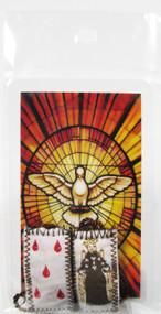 161.0245 Escapulario de el Espiritu Santo
