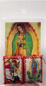 161.0294 Escapulario de la Virgen de Guadalupe y San Miguel