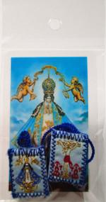161.0251 Escapulario de la Virgen de San Juan de los Lagos