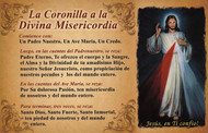 CEDULA DE CORONA A LA DIVINA MISERICORDIA