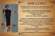CEDULA DE SAN CONO