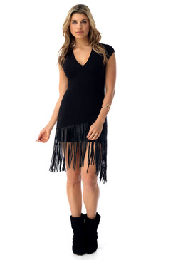 Fringed Detail Dress