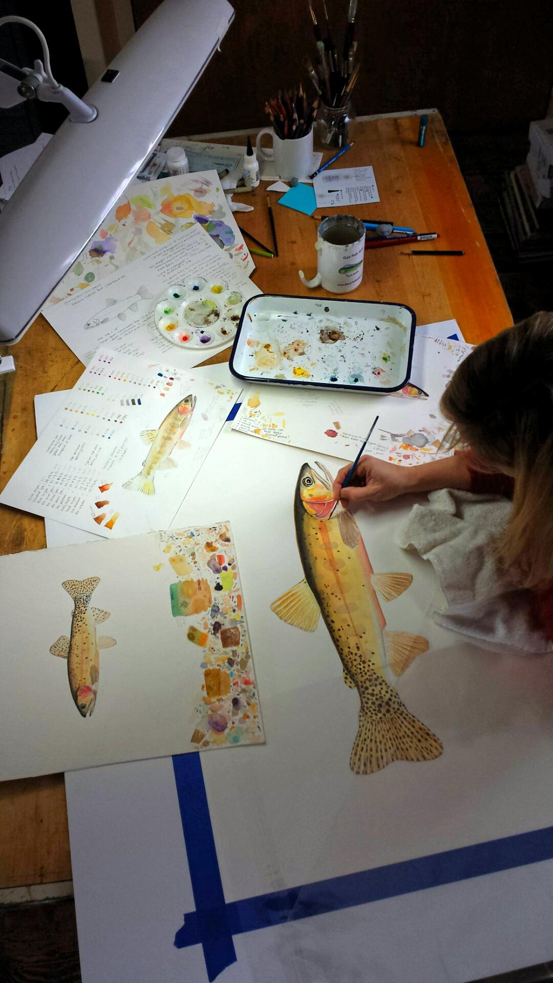 Karen Talbot Art Artist Studies
