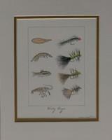 """""""Woolly Bugger"""" 11""""x14"""" Fine Art Print"""