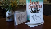 Banggai Cardinalfish (Pterapogon kauderni) Pen & Ink Notecards