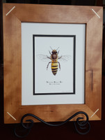Handcrafted 8x10 Wood Frames with Your Choice of Art