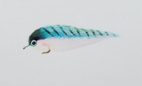 Original Saltwater Angler's Pint Fly - Mackerel Pattern