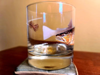 Tie One On Brown Trout Rocks/Old Fashioned Glass