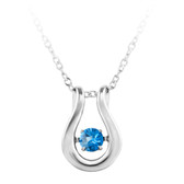 """Dancing December Birthstone"" Pendant"