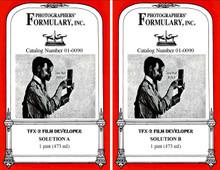 TFX-2 High Definition Developer Front Labels