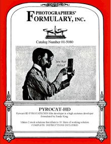 Pyrocat HD Dry or Liquid Front Label