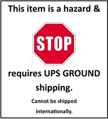 Phenidone* (Class 6.1)(Ground ups only) Choose ups ground at checkout