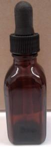 30 ml Amber Glass Bottle w/Dropper