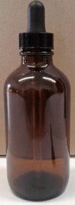 125ml Amber Glass Bottle w/Dropper