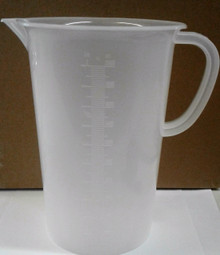 2000 ml Plastic Beaker