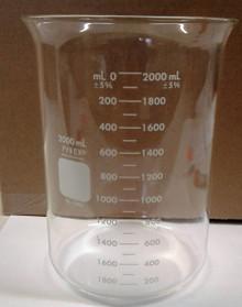 2000 ml Glass Beaker