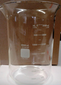 4000 ml Glass Beaker