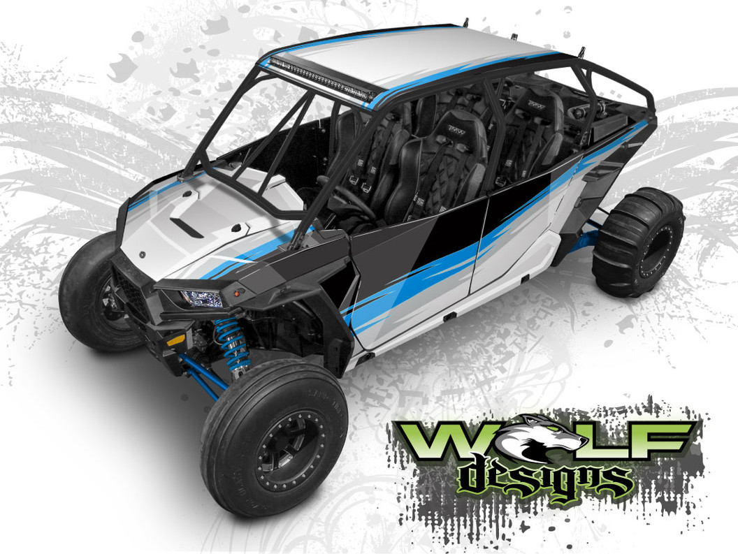 Polaris XP4 1000 UTV Wrap Kit