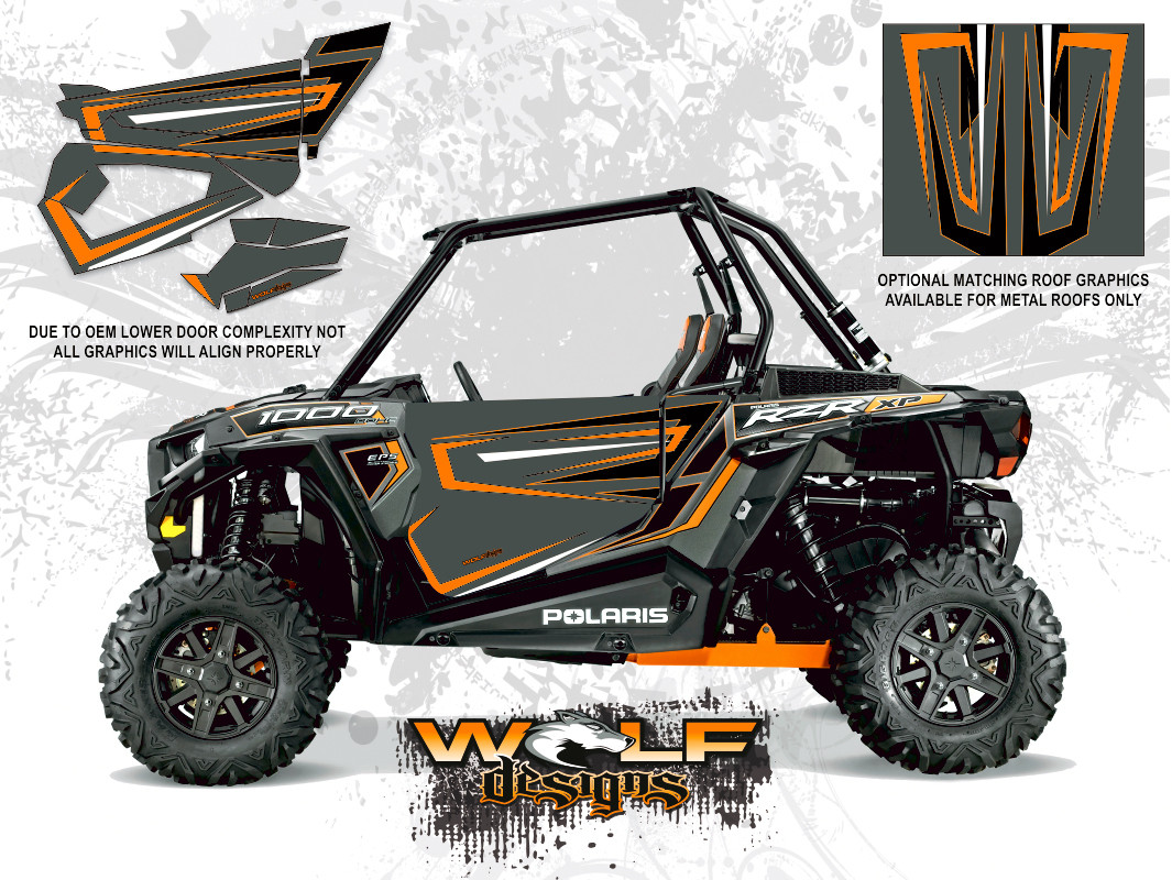 Polaris Rzr Xp 1000 Titanium Utv Door Kit