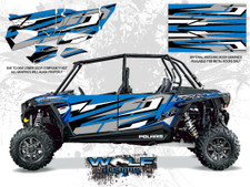 Polaris RZR XP4 1000 - Electric Blue Door Kit