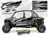 Polaris RZR XP4 1000 - Titanium Matte Metallic Door Kit