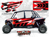 Polaris RZR XP4 1000 - Havasu Red Pearl Door Kit