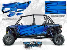 Polaris RZR XP4 1000 - Voodoo Blue Door Kit