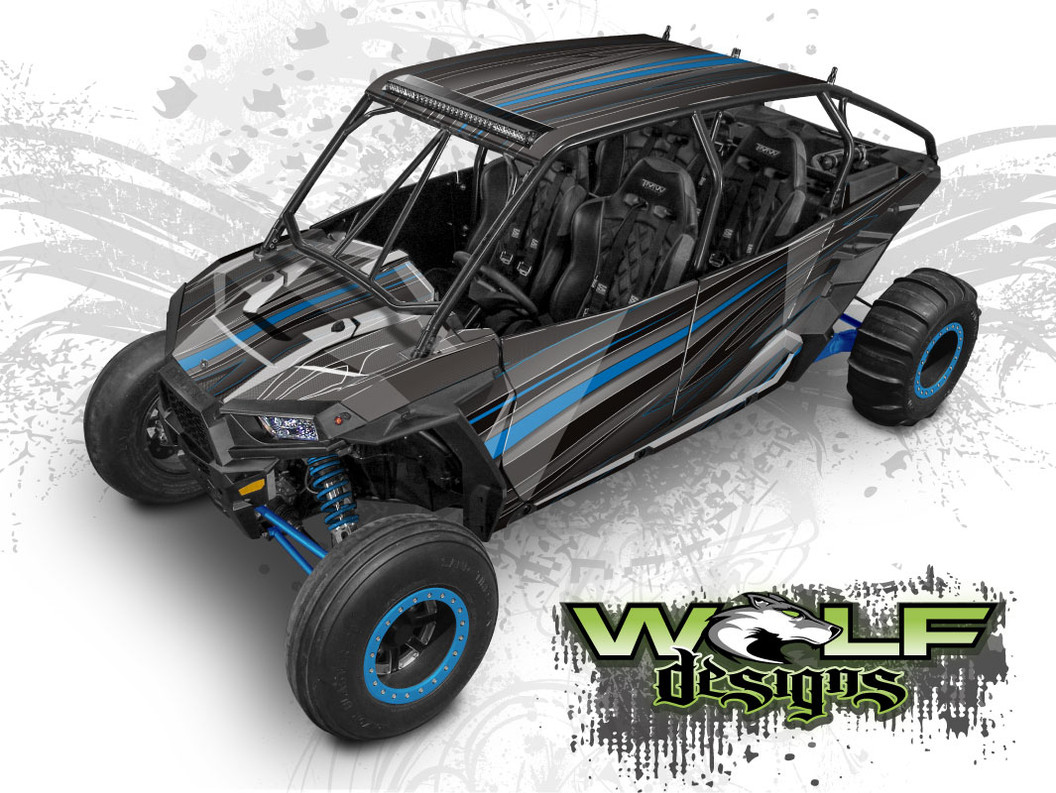 Polaris XP4 1000 UTV Graphics Wrap Kit