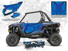 Polaris RZR XP 1000 - Voodoo Blue Door Kit