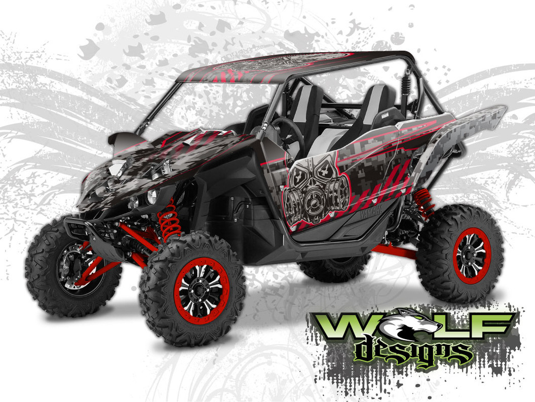 Yamaha YXZ 1000R - Graphics Wrap Kit