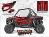 Polaris RZR XP 1000 - Sunset Red Door Kit