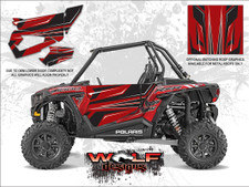 Polaris RZR XP 1000 - Sunset Red Door Kit