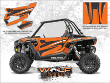 Polaris RZR XP 1000 - Matte Nuclear Sunset Door Kit