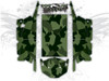 Green Urban Jagged Camo - Polaris RZR XP4 1000 and Turbo Graphics Wrap Kit