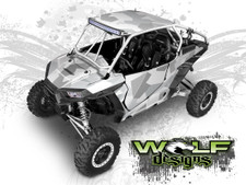 WD2B-005 - Polaris RZR XP1K/Turbo UTV Wrap Kit (EXTREME PLUS KIT SHOWN)