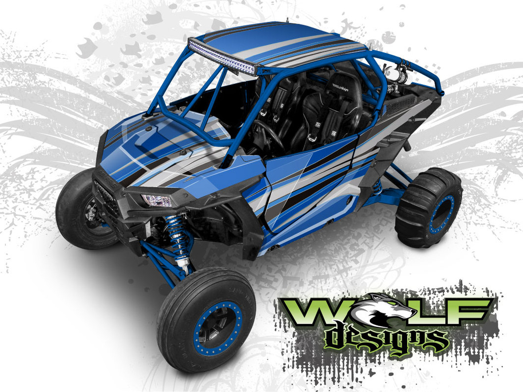 The best RZR wrap kit for Polaris XP1K, XP Turbo