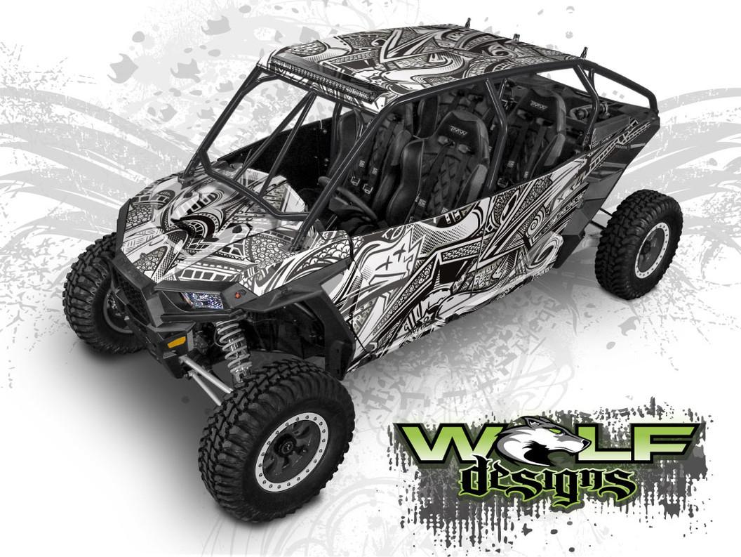 The best RZR wrap kits for Polaris RZR XP4 1000 and XP4 Turbo