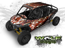 The best True Fire UTV wrap kit for Polaris RZR XP4 1000 and XP4 Turbo