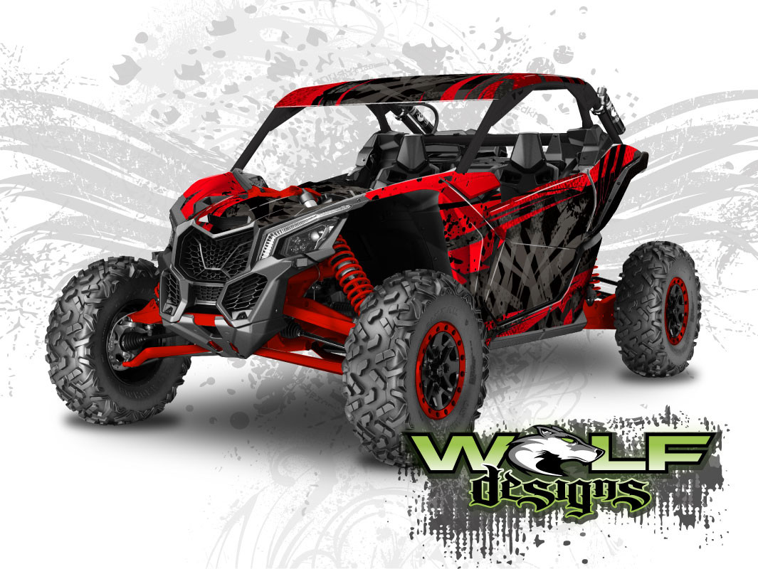 Can Am Maverick X3 Utv Graphics Wrap Kit
