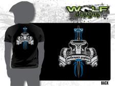 Wolf Designs Werewolf Performance Graphics T Shirt